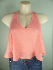 REDUCED!! MINKPINK pale pink layered singlet Cami tunic top sz XS 6 8