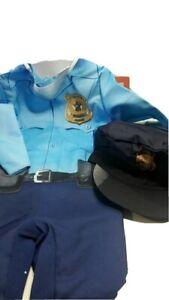 Police Officer Enforcer Toddler Halloween Costume Size 18-24 months Dress up
