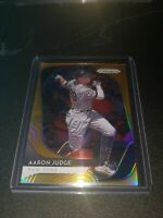 2020 PANINI PRIZM AARON JUDGE NEON ORANGE REFRACTOR /100 NEW YORK YANKEES NO 61