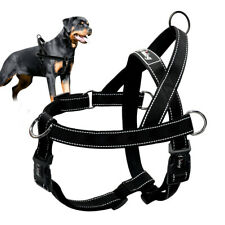 Non Pull Pet Harness Adjustable Mesh Large Dog Walking Pulling Harness Safety