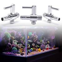 Thread Stainless Steel Aquarium Fish Air Flow Distributor Control Valve