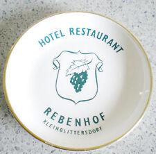 Villeroy und Boch-3 kleine Teller aus der Frankenzeit-KLEINBLITTERSDORF-REBENHOF