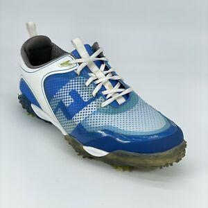FootJoy Mens Flex-Zone Freestyle 57340 Blue Soft Spike Golf Shoes Size 11.5