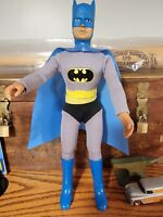 Mego Vintage 12 1/2 BATMAN W/ Repro Cape, Belt, & Boots Very Nice Non Magnetic!