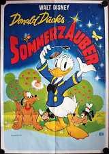 Donald Ducks Sommerzauber Filmposter A1 Walt Disney Donald Duck's Summer Magic