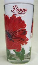 Poppy Peanut Butter Glass Glasses Drinking Kitchen Mauzy 28-2