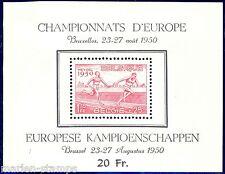 BELGIUM CHAMPIONS OF EUROPE SOUVENIR SHEET SC#B482a MINT NEVER HINGED