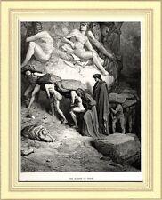 Purgatorio: Orgoglio e Superbia.Gustave Doré.Divina Commedia.Dante.Virgilio.1890
