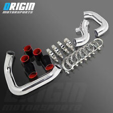 98-01 A4 1.8T B5 PERFORMANCE BOLT ON FRONT MOUNT INTERCOOLER PIPING HOSE KIT- BK