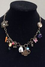 "- Vintage Bohemian Multi - Charm Necklace  Lenght: 9""inch + 3""inch extender"