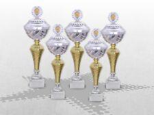 5er Pokalserie Pokale StarLight mit Gravur günstige preiswerte Pokale kaufen