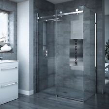 1200x900x1950 mm FRAMELESS SLIDING DOOR SHOWER SCREEN