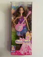 Barbie The Princess & The Popstar Keira Doll w/guitar 2011 Mattel X5128 RARE