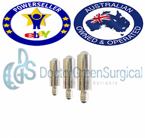 DGS Mini Otoscope and Ophthalmoscope LED ( Set of 3 LED Bulb )