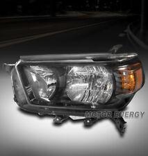 For 10 11 12 13 Toyota 4Runner Black Headlight Headlamp Lamp Driver Left Side