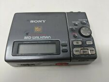 Sony Mz-R3 Md Walkman Portable Minidisc Player Digital Recorder - Working