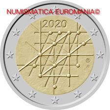 PREVENDITA - 2 EURO FINLANDIA 2020 UNIVERSITA' TURKU -  FDC DA ROTOLINO !!!