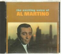THE EXCITING VOICE OF AL MARTINO CD Audio Musicale
