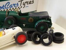 8 pneus URETHANE Bentley  SCALEXTRIC