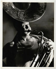 JOE E. BROWN 1930s Elmer Fryer SOUSAPHONE 10x8 PORTRAIT