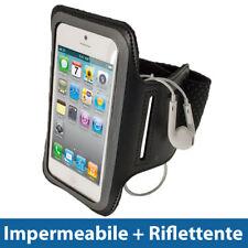 Nero Fascia Braccio Armband per Apple iPhone 5 5S 5C SE Sport Palestra Corsa