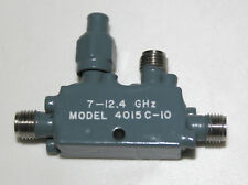 directional coupler   7 - 12,4 GHz Narda 4015C NOS Richtkoppler  SMA connectors