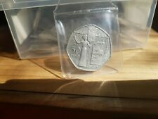 RARE SUFFRAGETTE 50p FIFTY PENCE COIN 2003 GIVE WOMEN THE VOTE.