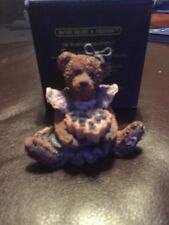 Boyds Bears & Friends 19934 Bailey The Baker With Sweetie Pie - Bearstone rare