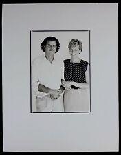 Photo Patrick Demarchelier - Diana et Patrick - 1989 -
