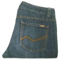JAG WOMENS SIZE 8 MEASURED W28 X L32 STRAIGHT LEG BLUE JEANS FREE POST