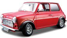 BURAGO Mini Cooper 1/32 Scale Diecast Car Red BBU43206
