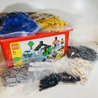 Lego Bulk - Mixed Bricks In Storage Container - Joblot - Starter Set Bundle