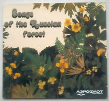 Soviet Advertising Booklet Airline Aeroflot Songs of the Russian Forest Birds