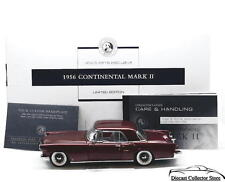 FRANKLIN MINT 1956 Lincoln Continental Mark II Limited Ed 784/1000 Diecast 1:24
