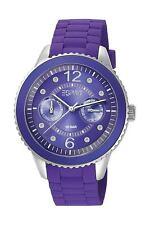 Esprit Damenuhr Marin 68 Speed Purple Edelstahl Violett Datum ES105332006
