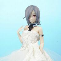 Q-Six Akeiro Kaikitan Velvet Long Hair Wedding dress PVC New Anime Figure 26cm