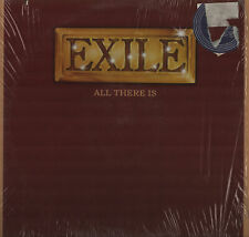 Exile All There Is Cut Cover Vinyl Record Album Shrinkwrap NM Vinyl