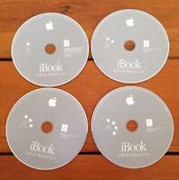 Macintosh iBook Mac OS x 10.1.4 9.2.2 Software Restore Install CD Discs 2002