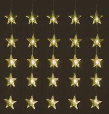 Sternenvorhang 80 LED warmweiß - 100x80 cm - Lichtervorhang Stern Lichterkette