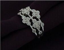 doppio anello donna agganciabile forma cuore in argento 925 rodiato oro bianco