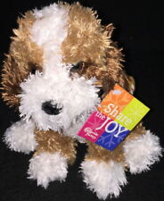 The Cheesecake Factory 2009 Share The Joy BERNIE DOG Bean Bag Plush To/From Tag!