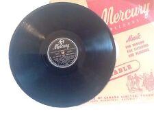 "Charlie Parker ""Mohawk/An Oscar for Treadwell"" Mercury 11082 Vintage 10"" 78 rpm"
