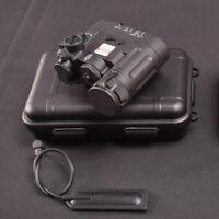 WADSN DBAL-D2 Illuminator Multifunction RED IR Laser + LED Light Device - BLACK
