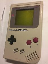 ORIGINAL RETRO DMG-01 NINTENDO GAME BOY GB NGB HANDHELD CONSOLE + TETRIS GAME
