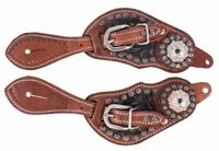 NEW YOUTH SIZE WESTERN SPUR STRAPS FOR HORSE SHOWS