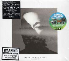 John Legend - Darkness And Light (2016 CD) 3 Extra Tracks (New & Sealed)