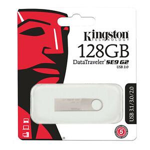 KINGSTON Clé USB 64 / 32 / 128 Go USB 3.0 100% ORIGINAL 64 / 128 GB FLASH DRIVE
