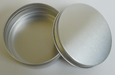 230 pc Screw Top 8oz Tins for Candles, Soap, Crafts, Survival Storage