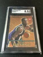 1997 Collector's Edge Kobe Bryant Game Used Ball Patch Lakers SGC 8.5 LOW POP!