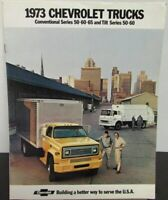 1973 Chevrolet Conventional Series 50 60 65 Tilt Truck Sales Brochure Original